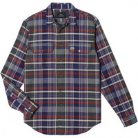 Long Sleeve Woven Flannel in Plaid by Lacoste