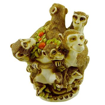 Harmony Kingdom Family Reunion (Monkeys) Figurine