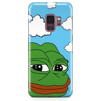 Pepe The Frog Meme Samsung Galaxy S9 Plus Case | Casefantasy