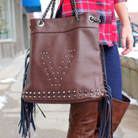 Vogue Fringe Purse