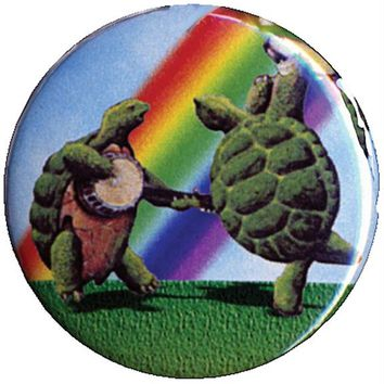 Grateful Dead - Dancing Terrapins Button