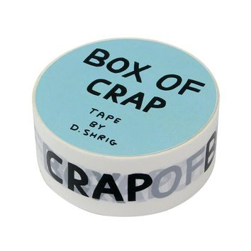 Box Of Crap Packing Tape by David Shrigley