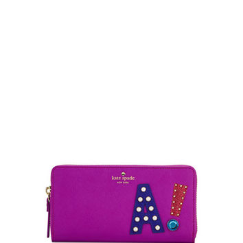 kate spade new york hartley lane lacey a wallet, baja rose