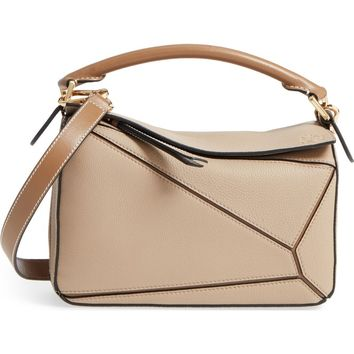 Loewe Small Puzzle Leather Bag | Nordstrom