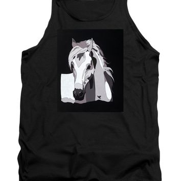 Arabian Horse With Hidden Picture - Tank Top