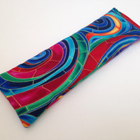 Stainglass Eye Pillow