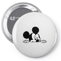 mickey Pin-back button