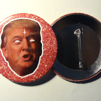 Button - Pins // Donald trump