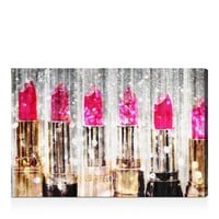 Oliver Gal Lipstick Collection Wall Art | Bloomingdales's
