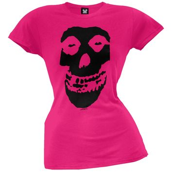Misfits - Black Skull Juniors T-Shirt