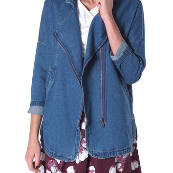 Oldie But Goodie Denim Jacket - Blue