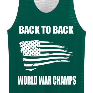 back to back world war champs jersey