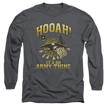 Army-Hooah - T-Shirts & Tanks