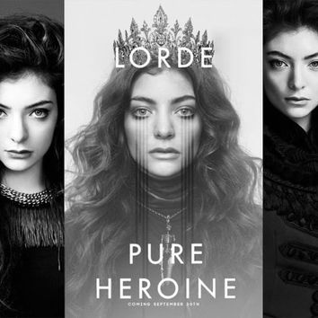 """Idol Poster ready sale for """"Lorde Pure Heroine"""" poster"""