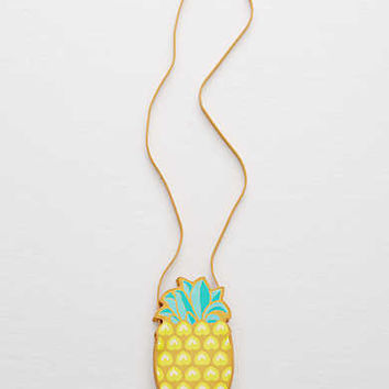 Aerie Pineapple Crossbody Bag, Yellow