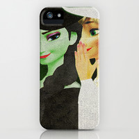 Frozen: the untold story of the snow queen iPhone & iPod Case by Page394