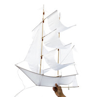 Haptic Lab Sailing Ship Kite White