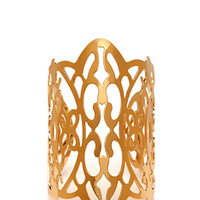 FOREVER 21 Ornate Filigree Cuff Gold One