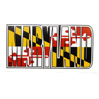 Maryland Text / Sticker