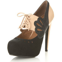 Sian Nude Two Tone Town Shoe - View All - New In - Miss Selfridge