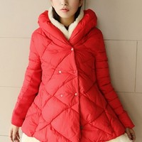 Sweet Quilted Cape Coat - OASAP.com