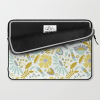 Annabelle Meadow Laptop Sleeve by Heather Dutton