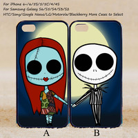 The Nightmare Before Christmas Sally and Jack Couple Case,Custom Case,iPhone 6+/6/5/5S/5C/4S/4