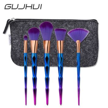5pc Makeup Brush Set