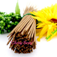 Cherry Berry Incense Sticks Handmade All Natural Candles Home Decor Home Fragrance Aroma Therapy Essential Oils Organic