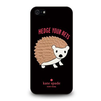 KATE SPADE HEDGE YOUR BETS iPhone 5 / 5S / SE Case
