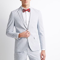 Micro-Striped Suit Jacket | 21 MEN - 2000097004