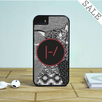Twenty One Pilots Blurryface Patterns iPhone 5S Case