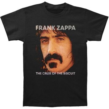 Frank Zappa Men's  Crux Of The Biscuit T-shirt Black