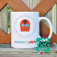 21 Pilots Logo Coffee Mug, Ceramic Mug, Unique Coffee Mug Gift Coffee