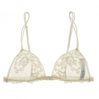 Buy La Perla luxury lingerie - La Perla Donna Angelica Triangle Lace Bra  | Journelle Fine Lingerie