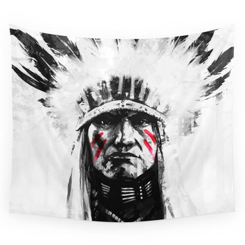 Society6 Native American Wall Tapestry