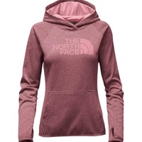 The North Face Fave Pullover Hoodie in Rose Dark Heather for Women NF0A2THV-JVJ