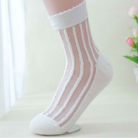Transparent White Socks from MILK CLUB