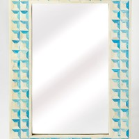 Butler Serena Blue Bone Inlay Wall Mirror