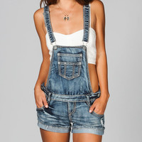 Hippie Laundry Womens Denim Shortalls Vintage Medium  In Sizes