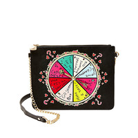 KITSCH SPINNER SPINNER CROSSBODY: Betsey Johnson