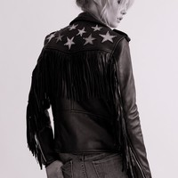 Free People Metallic Night Jacket