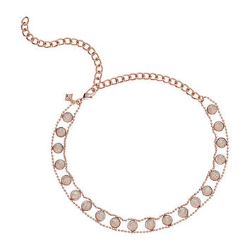 Rebecca Minkoff Opal Illusions Choker Necklace Antique Rose Gold/White Opal - Zappos.com Free Shipping BOTH Ways