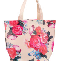 Bloom Floral Laminate Tote | Multi | Accessorize