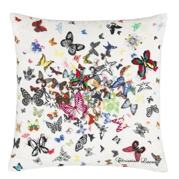 Christian Lacroix Butterfly Parade Opalin Cushion