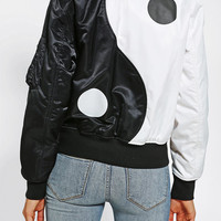Urban Outfitters - Made Me Yin-Yang Bomber Jacket