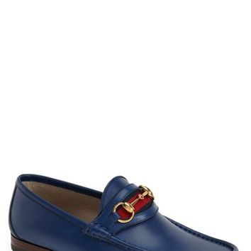 Men's Gucci 'New Classic' Bit Loafer,