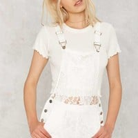 Play Your Lace Shortalls
