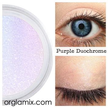 Purple Duochrome Eyeshadow Effects