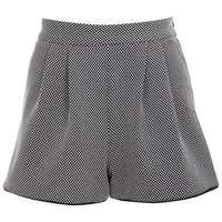 Monochrome Texture Shorts - Shorts - Apparel